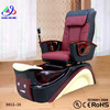 black spa pedicure chairs / golden beauty equipment spa chair