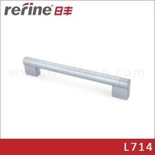 Manija de aluminio para puerta de guardarropas o cajón de cocina