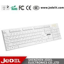 Best Sale Slim Style Keyboard White Color Computer Keyboard