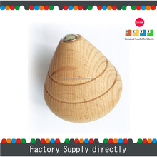 Hotsale Natural Color New Cheap Wooden Spinning Top