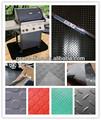 Bbq esteras del piso esteras/alfombrillas material de pvc