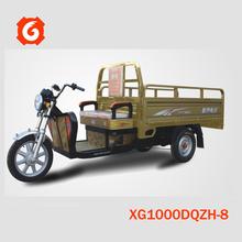 2015 new style 60V 1000W Xinge trike electrical van best seller in India