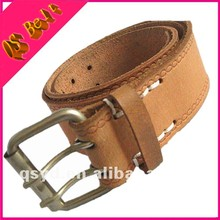 Mini Conveyor Men 100% Genuine Famous Brand Brown Leather Belt Belts For Men Crochet Elastic Waistband Postpartum Girdle