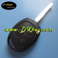 433Mhz 3 buttons car key with 4D63 (copy 80 bit) chip for ford key ford focus remote key