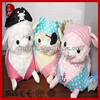 New plush toy wholesale soft cute animal decoration pirate plush alpaca stuffed lamb toy