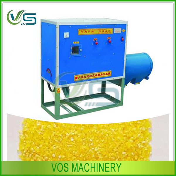 automatic corn grits process machine/corn grits mill machine
