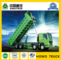China Manufacturer! HOWO 8x4 Sinotruck Tipper trucks for sale with 30t capacity