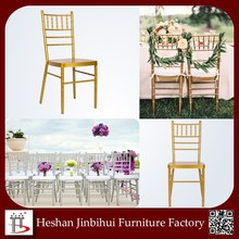 BH-8815 wholesale Gold hotel furniture Party Chiavari Chair for sale
