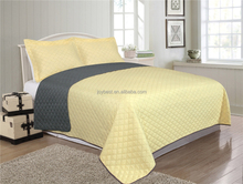 ultrasonic embossing quilt set in solid color