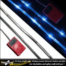 battery powered led strip light / battery operated led lights for clothing / 6v led strip
