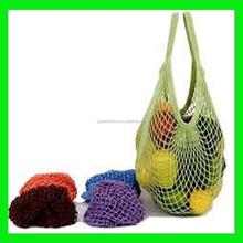 Customized size Mesh Drawstring Cotton Tote bag,designer cotton shopping bag