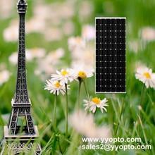 monocrystalline photovoltaic solar panels 200 watt for solar lighting system