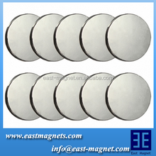 flat super strong magnet /pull power 10 Kg round shape neodymium magnet for sale