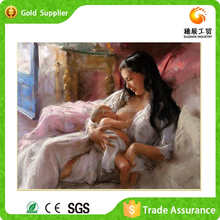 Factory wholesale wall art gifts and crafts mother and baby resin diamond painting for sale