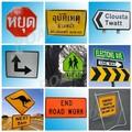 Alumínio sinal de trânsito reflexivo para a segurança rodoviária