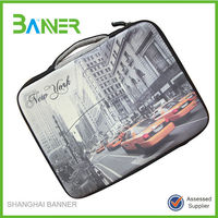 Hot selling 17 inch neoprene laptop sleeve with handle