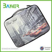 Hot selling 17 inch neoprene laptop sleeve with handle