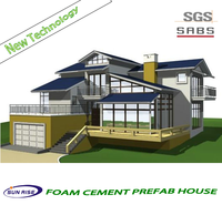 fast assembled low cost green house/low cost prefabricated wood houses/smart homes of mobile homes
