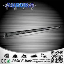 super bright aurora offroad light bar 50 inch led 4x4 bar high power