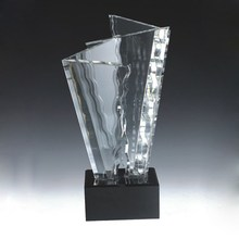 fashionable outstanding achievement crystal trophies for awards