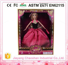 2015 Fashion Plastic Princess Doll Real Silicone Long Hair Dolls