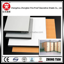 changzhou zhongtian new design decorative toilet partition