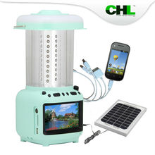 2015 new CHL ivopow solar lantern with cellphone charger