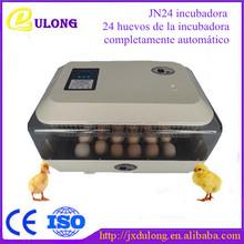 24 huevos de la incubadora de huevos totalmente automático