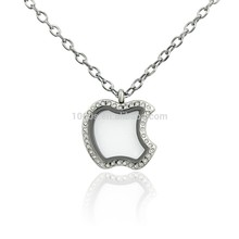 de alta calidad de apple en forma de marco de fotos colgante colgante de joyería