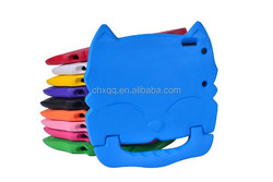 kids shockproof case Big face cat EVA Soft Silicone cover For Ipad 2/3/4