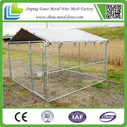 Alibaba China - Fashional and professional 10x10x6 foot classic galvanized outdoor dog kennel (Hot sale)