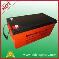 OEM service factory price 200ah 12V AGM ups Battery for inverter