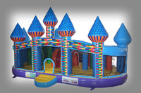 Fun inflatable castle, good printing inflatable bouncy castle, jumping bouncer