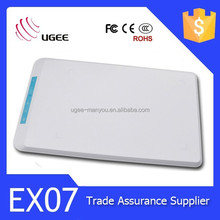 UGEE EX07 digital tablet animations drawing tablet