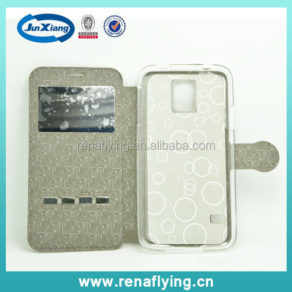 alibaba china leather case for samsung galaxy s5 i9600