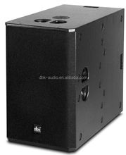 Dual 15 inch professional sound system audio subwoofer speaker with compact design SUB-215