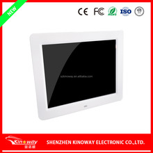 10.4 inch LCD digital picture frame music/video playback full function video frame rotate/slideshow video displayer
