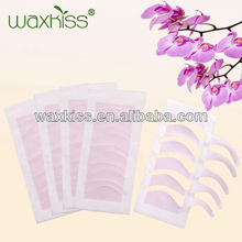 MSDS,SGS certificate!!Hot sales!!eyebrow waxing strips for beauty/ depilatory wax strips for eyebrow/ free sample wax strips