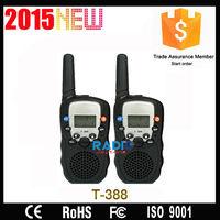 Cheap UHF Security Guard Equipment 2 Way Radio T388