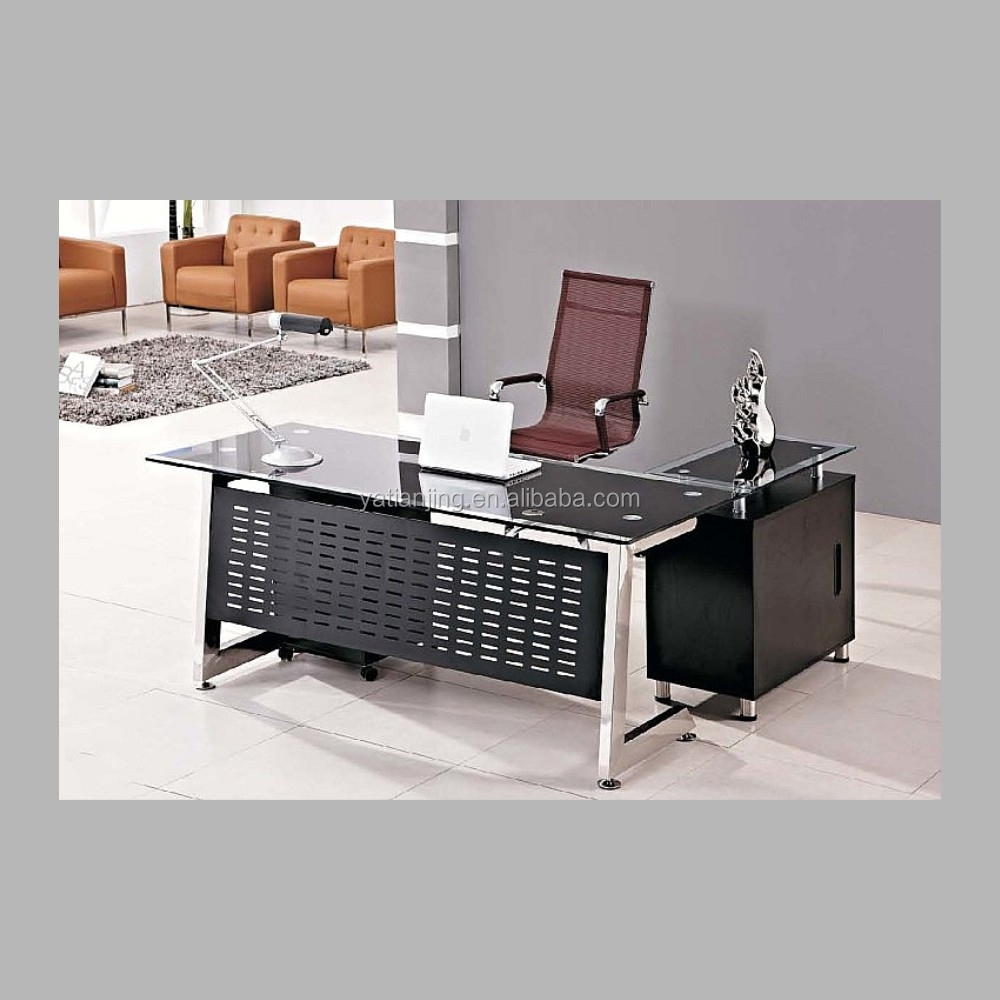 Glass Top Office Furniture Glass Top Office Desk Contemporary Office Desk Desk