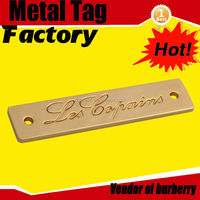 metal cast iron name plates