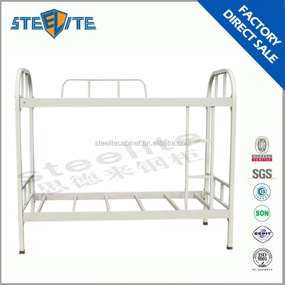Steel Double Decker Beds : heavy duty steel metal bunk bed steel double decker bed