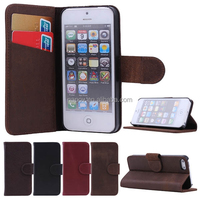 2014 Special Style PC+Genuine Leather Mobile Phone Case for Iphone5 5s
