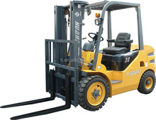double pallet fork lifter with 1070mm fork