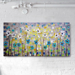 abstract floral paintings