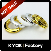 KYOK ABS Material Curtain decoration plastic curtain eyelets ring