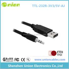 FTDI USB Chipset Two-Way Radio Programming Cable