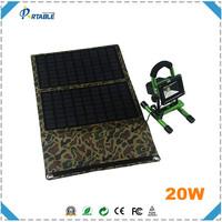 price per watt solar panel 20 watt monocrystalline silicon solar panel folding solar charger