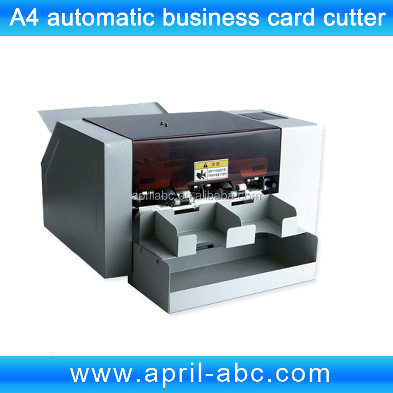 Wholesale A4 automatic business name card cutter machine