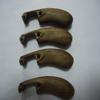 Custom high precision walnut wood parts CNC machinining wood parts